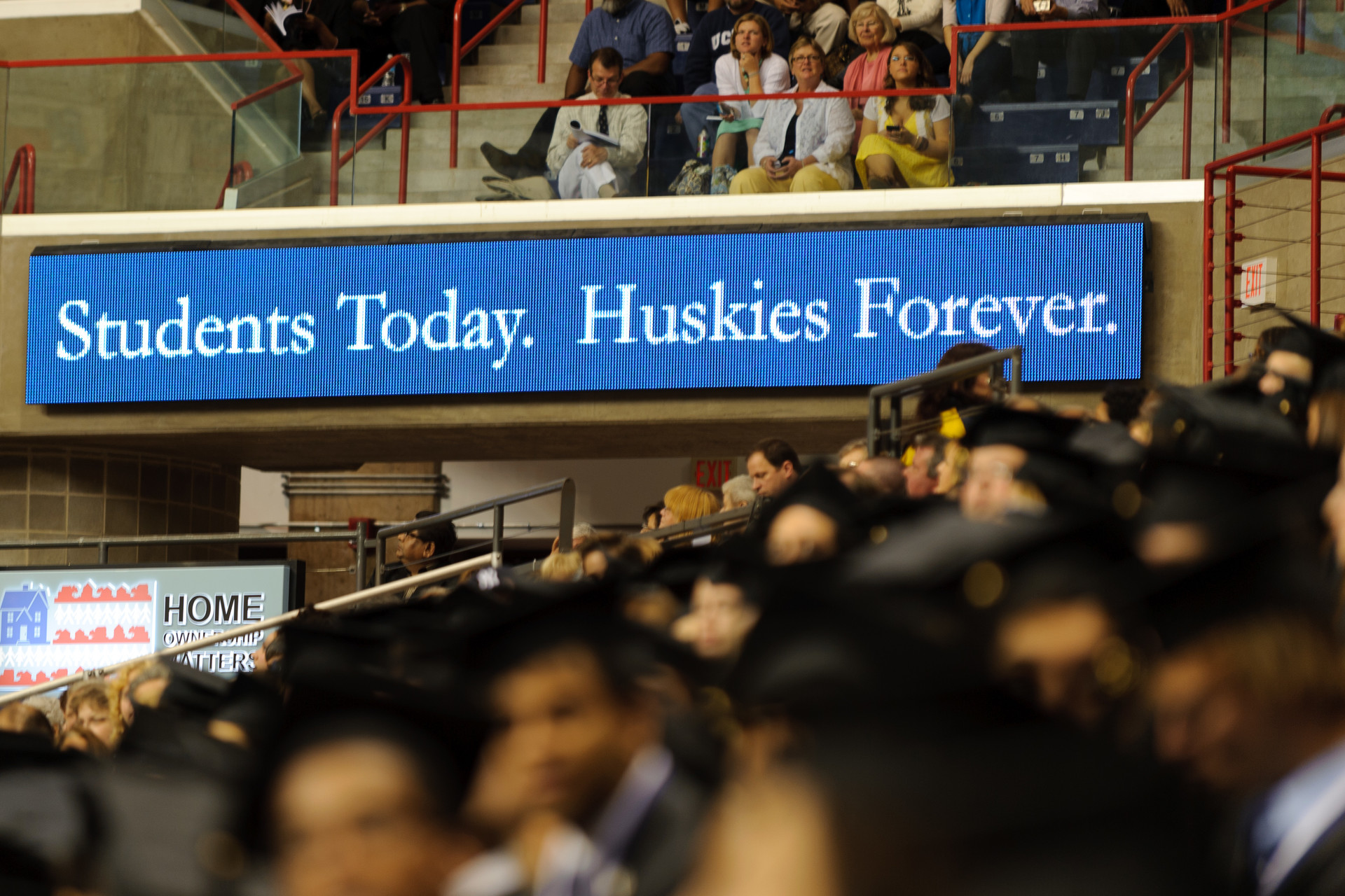 Students Today. Huskies Forever.