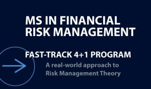 MS in Financial Risk Management Fast Track 4+1 Program, A real-world approach to Risk Management Theory